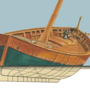 Cinque Terre Vintage Boat 2016